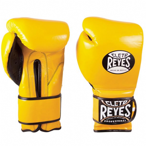 Cleto Reyes Wrap Around Sparring Gloves - Yellow